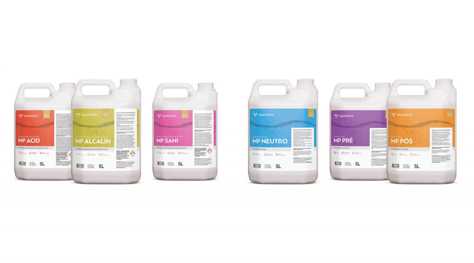 Imagem de capa do produto Produtos para Higienização de Sistemas de Ordenha e Saúde Animal